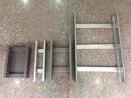 梯级式不同材料对比